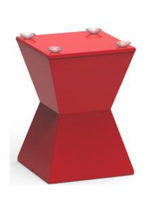 Base De Mesa Nitro Color Vermelho