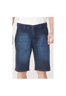 Bermuda Onbongo Jeans Slim Confort Azul