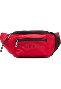 Givenchy Pochete Com Estampa De Logo - Vermelho
