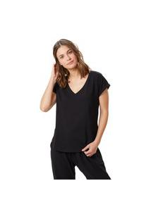 T-Shirt Corpo E Arte Sophie Preta