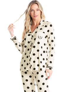 Pijama Longo Abotoado Gisele