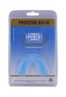 Protetor Bucal Punch Simples Profissional - Adulto - Azul