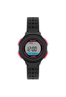 Relógio Digital Mormaii Feminino - Mo0974B8T Preto