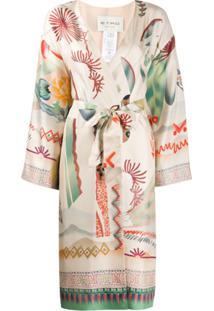 Etro Jaqueta Com Padronagem Floral - Neutro