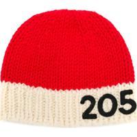 Calvin Klein 205W39Nyc Gorro Com Contraste - Vermelho fd4675720e7