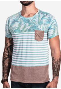 Camiseta Tropical Listrada 101974