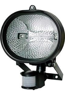 Refletor Holofote Halógeno Com Sensor De Presença - Dni 6018