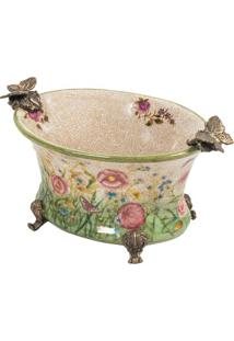 Vaso Decorativo De Porcelana Luzutang