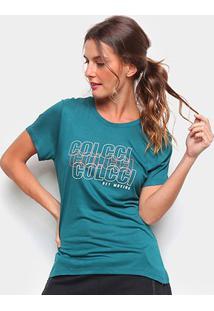 Camiseta Colcci Logo Get Moving Feminina - Feminino