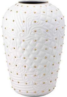 Vaso Vanitas 31 Cm Branco Versace