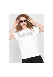 Camiseta Colcci Debochada Branca