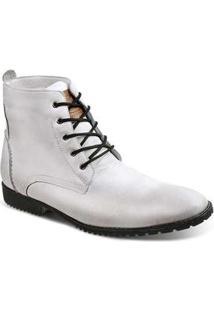 Bota Dress Boot Masculina Sandro Moscoloni All White White