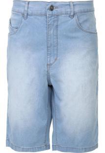 Bermuda Jeans Rip Curl Reta Estonada Azul - Kanui