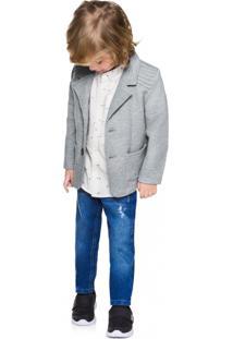 Calça Jeans Infantil Menino Milon Azul