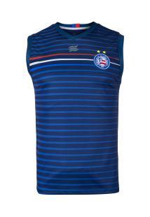 Camiseta Regata Do Bahia Concentração 2020 Esquadrão - Masculina - Azul