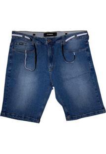 Bermuda Jeans Hocks Tamanhos Grandes 21-245 Masculina - Masculino