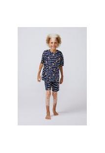 Pijama Estampado Infantil Menino