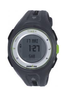 Relógio Digital Com Gps Timex Tw5K87 - Unissex - Preto/Cinza