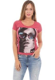 Camiseta Aes 1975 Pretty Woman Feminina - Feminino-Vermelho