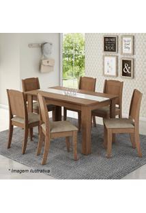 Conjunto De Mesa & Cadeiras Barbara- Savana & Marfimcimol
