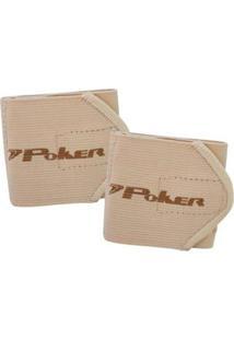 Munhequeira Poker Ajustável Basic - Unissex