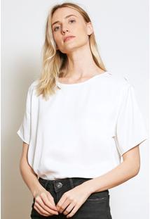 Camiseta Forum Lisa Branca - Kanui