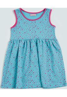 Vestido Infantil Estampa Bolinhas Marisa