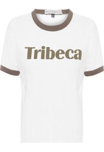 Camiseta Feminina Tribeca - Branco