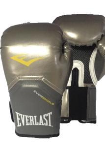 4203eead0 Luva De Boxe Everlast Pro Style Elite Prata