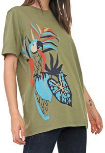 Camiseta Cantão Arara Verde - Kanui