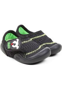 Sapato Infantil Klin Confort - Masculino-Preto