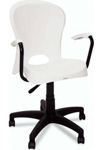 Cadeira De Escritório Diretor Jolie Branco