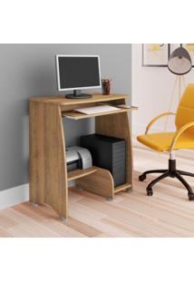 Mesa Para Computador Com 3 Prateleiras Pixel Artely Pinho