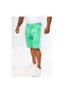 Bermuda Short Moletom Color Summer Premium Menta