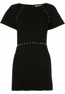 Rachel Zoe Vestido Slim Com Vazado - Preto