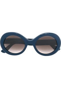 Jimmy Choo Eyewear Óculos De Sol  Wendy S  - Azul b5e73ac95b