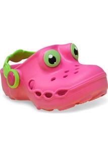 Babuche Fem Infantil Sunway 103C1 Pink/Verde