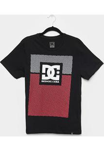 Camiseta Juvenil Dc Shoes Pill Resident Manga Curta Masculina - Masculino-Preto
