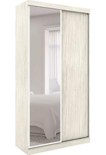 Guarda-Roupa Closet Modulado Virtual I Com Espelho 2 Pt 6 Gv Rovere Amadeirado
