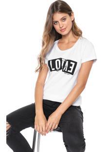 Camiseta Planet Girls Love Branca