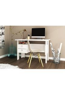 Mesa Para Computador E Escrivaninha Móvel Bento