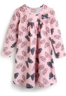 Vestido Milon Laços Rosa