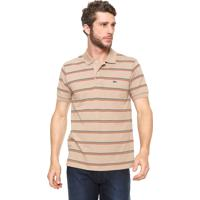 Camisa Pólo Bege Lacoste masculina   Shoes4you 80a6a07361