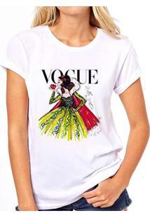 Camiseta Coolest Branca De Neve Vogue Feminina - Feminino