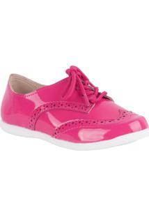 Sapato Molekinha Oxford - Feminino-Pink