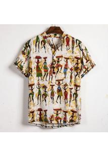 Camisa Havaiano Henley - Root