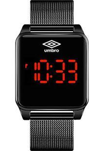 Relógio Umbro Digital 51 - Unissex-Preto