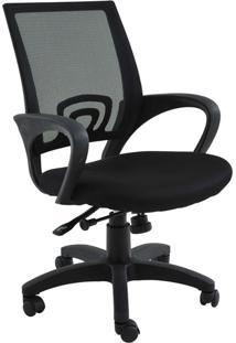 Cadeira De Escritório Base Rodízio Santiago-Rivatti - Preto