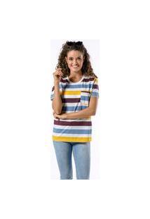 Camiseta Manga Curta Colors Woman Off White