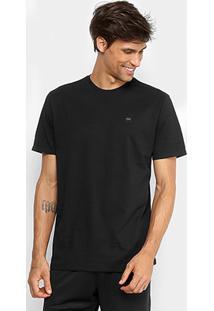 27e3f8d15f Camiseta Oakley Manga Curta Masculina - Masculino-Preto